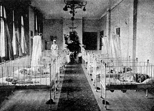 infants in orphanage